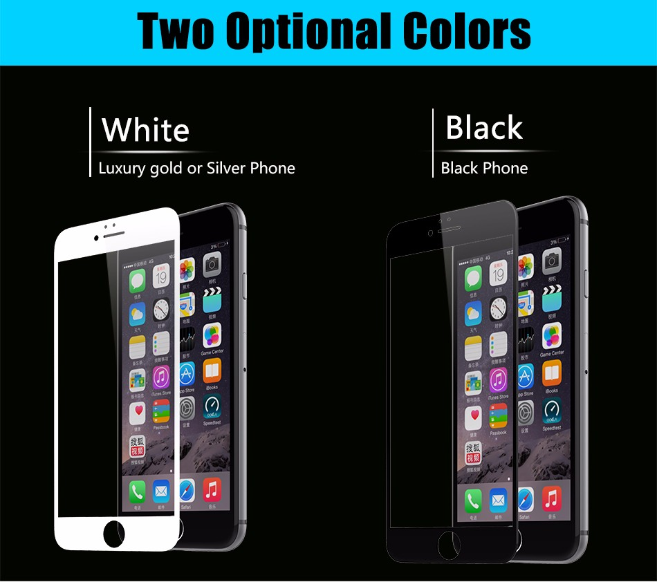 Temper glass screen protector for iphone 6 6s plus (12)