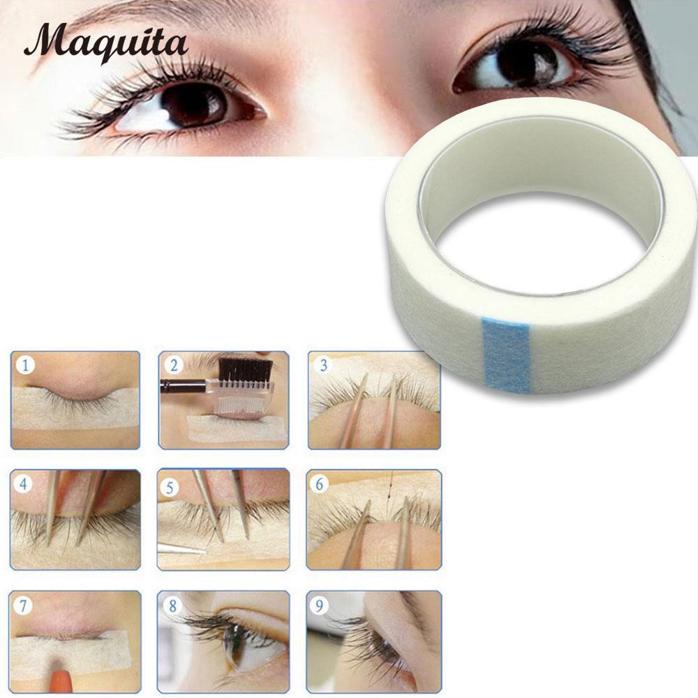 Beauty Lash Extension Supply Women 5 Rolls Set Cosmetic Fashion Eyelash Medical Tape Technician Makeup Tools Lady Isolation