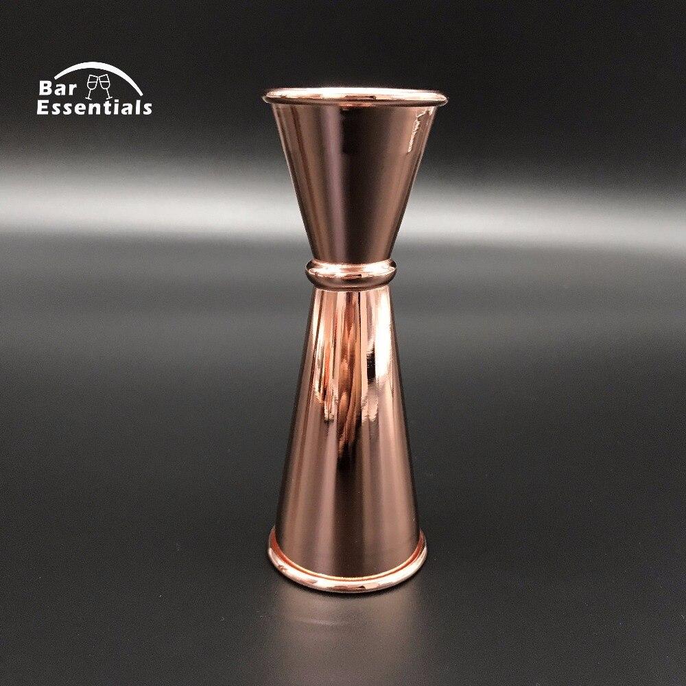 Kostenloser Versand Kupfer Version 6 Stück Bar Set Boston Cocktail Shaker Bartending Set Einschließlich Mischen Glas - 3