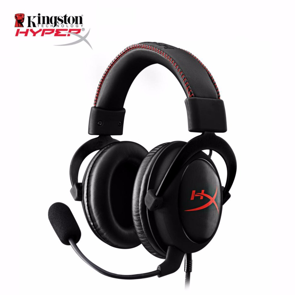 KINGSTON HyperX Cloud Core Gaming Headset Suitable for computer phone tablet Headphones With microphone kingston hyperx cloud ii red khx hscp rd