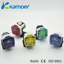 mini peristaltic pump with 12V DC motor small electric water pump micro doing pump with high prissure Kamoer(L) KDS 900 ml/min