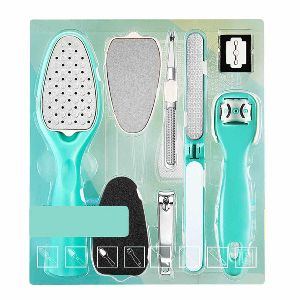 Voetverzorging Bestand voor Voeten Hakken Teen Cuticle Kit Bestand Pedicure Set Producten Pusher Remover Professionele Beauty Pedicure Tool Set