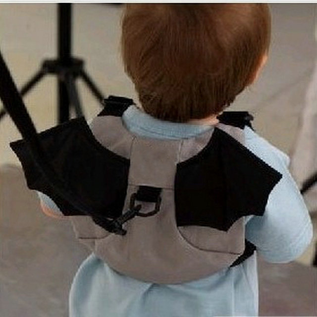 New Kids Keeper Baby Safe Walking Toddler Safety Harness Backpack Bag Lead Strap Baby Carrier Bat Style For Kid Child Boy