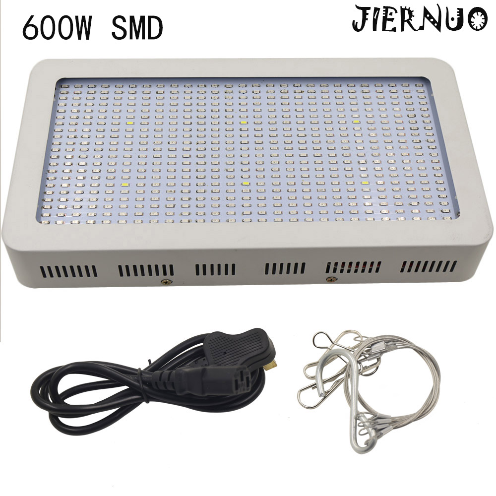 Full Spectrum 600W LED Grow Light Red/Blue/White/UV/IR AC85~265V SMD5730 Led Plant Lamp Best For Growing and Flowering phares full spectrum 600w led grow light double chips red blue white uv ir ac85 265v led plant lamps best for growing and flowering