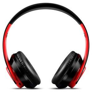 Image 2 - AYVVPII ที่ดีที่สุดหูฟังไร้สายสเตอริโอหูฟังบลูทูธในตัว Mic Soft Earmuffs กีฬาชุดหูฟังสำหรับ ios และ Android