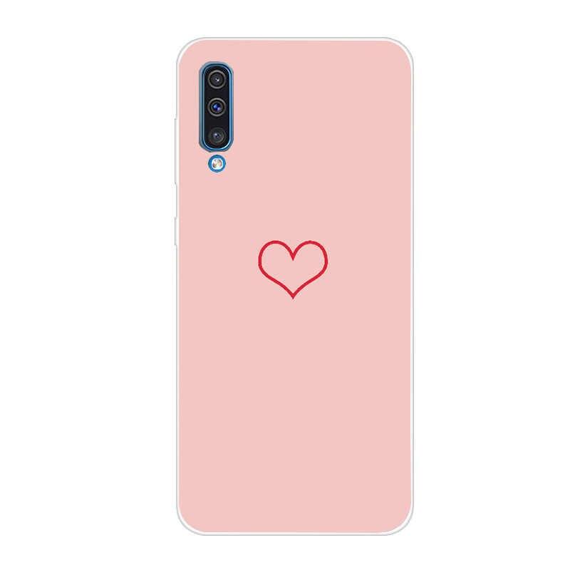 Sang trọng Mềm TPU Minnie Trường Hợp Đối Với Samsung Galaxy A7 2018 A50 A30 S10e Bìa Cho Coque Samsung S10 Cộng Với Trường Hợp đá cẩm thạch Funda Capa