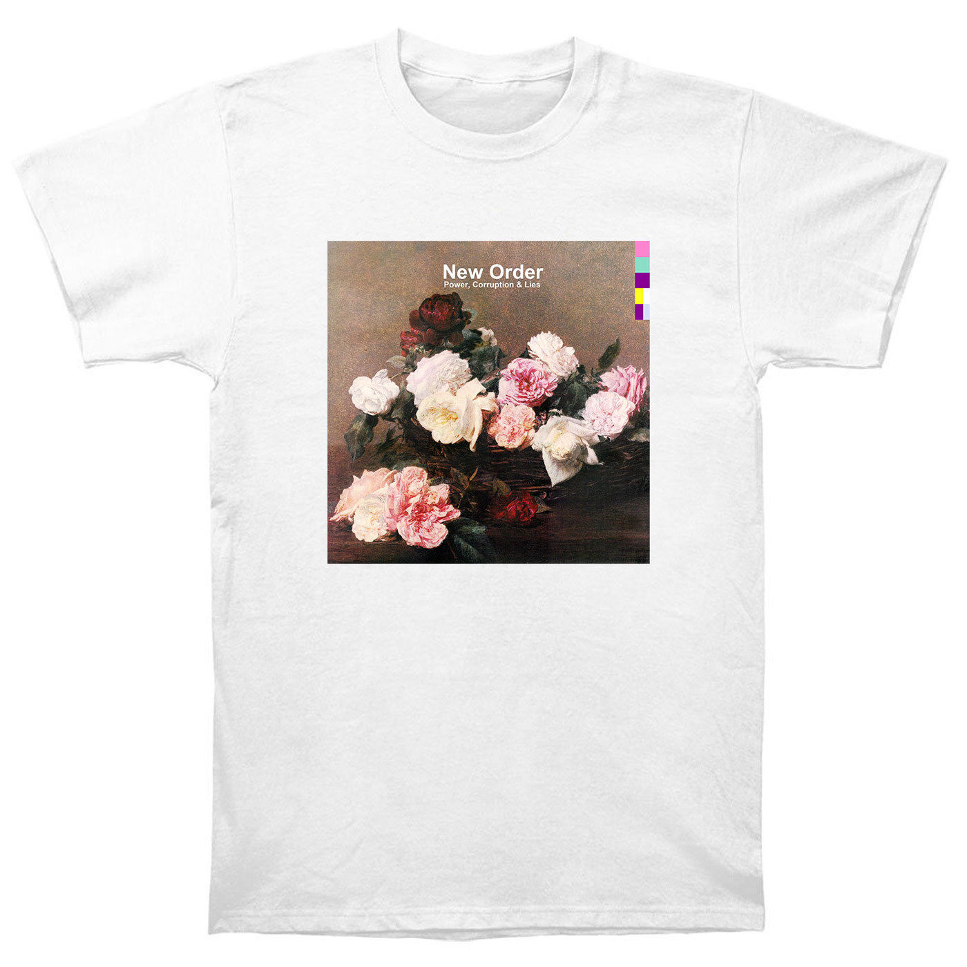 New Order Power Corruption And Lies T Shirt Cd Lp Vinyl