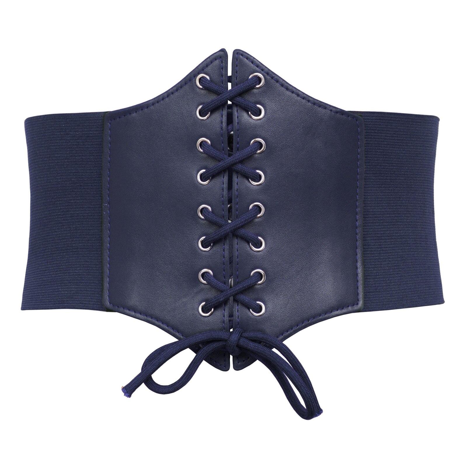 Women's Stretchy Elastic Wide Corset   Belt   Cincher Waistband Plus Size S-3XL Nice
