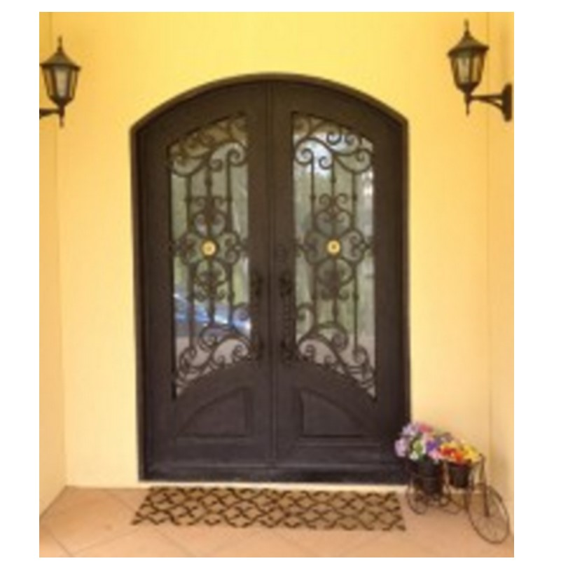 Aluminium Glass Double Entry Doors Lowes Arched Double