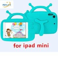 Kids Antenna Baby EVA Case For Apple IPad Mini 1 2 3 4 Foam Shockproof Handle