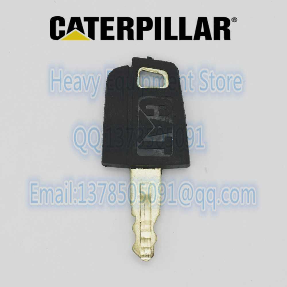 10 pcs 5P-8500  5P8500 KEYS IGNITION KEY FOR CAT  LOADER,EXCAVATOR