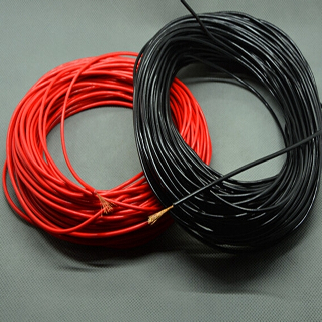 0.5mm2 Copper Conductor Welding Wire Power Cables Electronic Light Mould Parts DIY Material