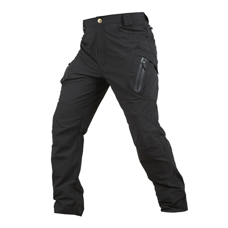 LIS ALICES 2019 IX9 Men City Tactical Pants Multi Pockets Cargo Pants Military