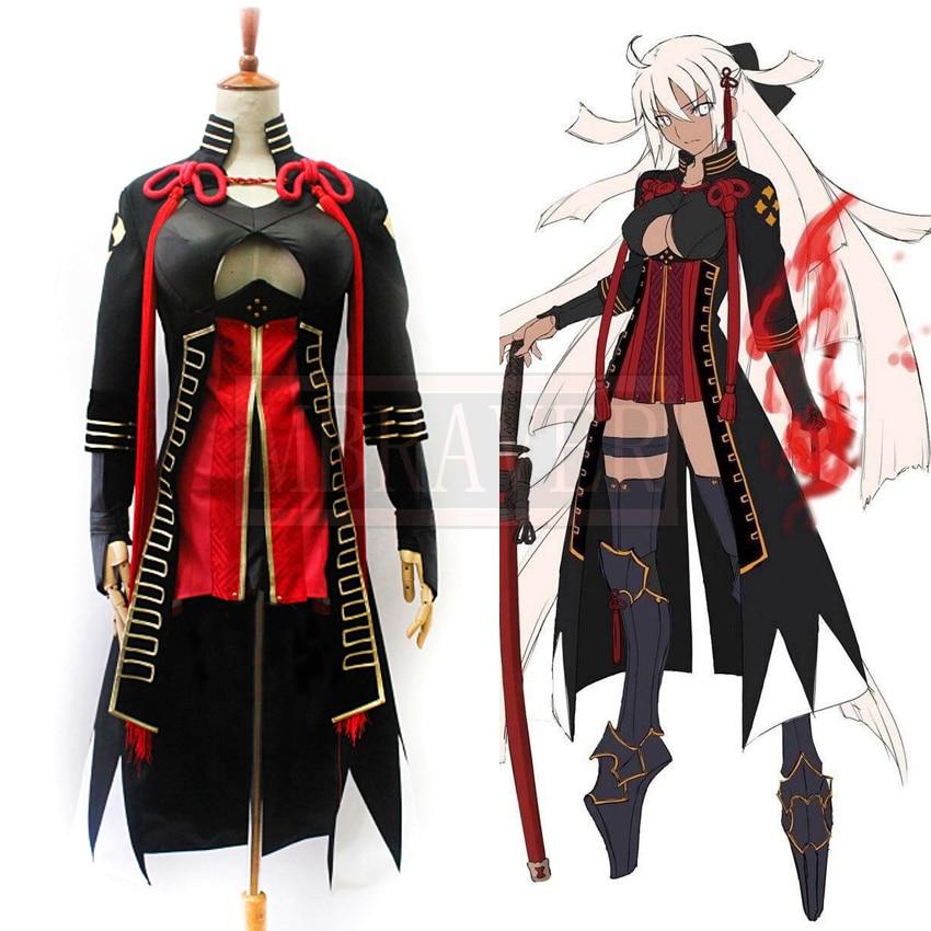 Fate Grand Order Fgo Alterego Okita Souji Alter Halloween Cosplay Costume Custom Made Free Shipping Game Costumes Aliexpress
