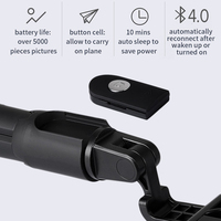 Lewinner 3 в 1 Беспроводная Bluetooth селфи палка мини штатив выдвижной монопод универсальный для iPhone X 8 7 6s для Samsung/Huawei 1