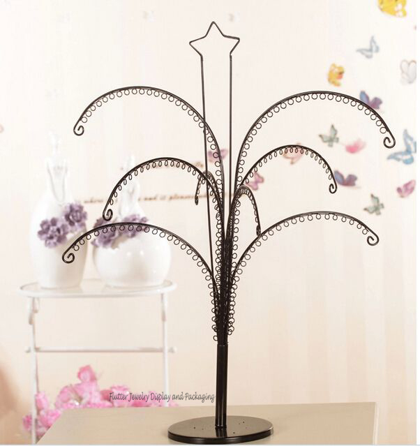 Honeyb Earring Stand Holder And Display Laser Cut Wire Jewelry Tree