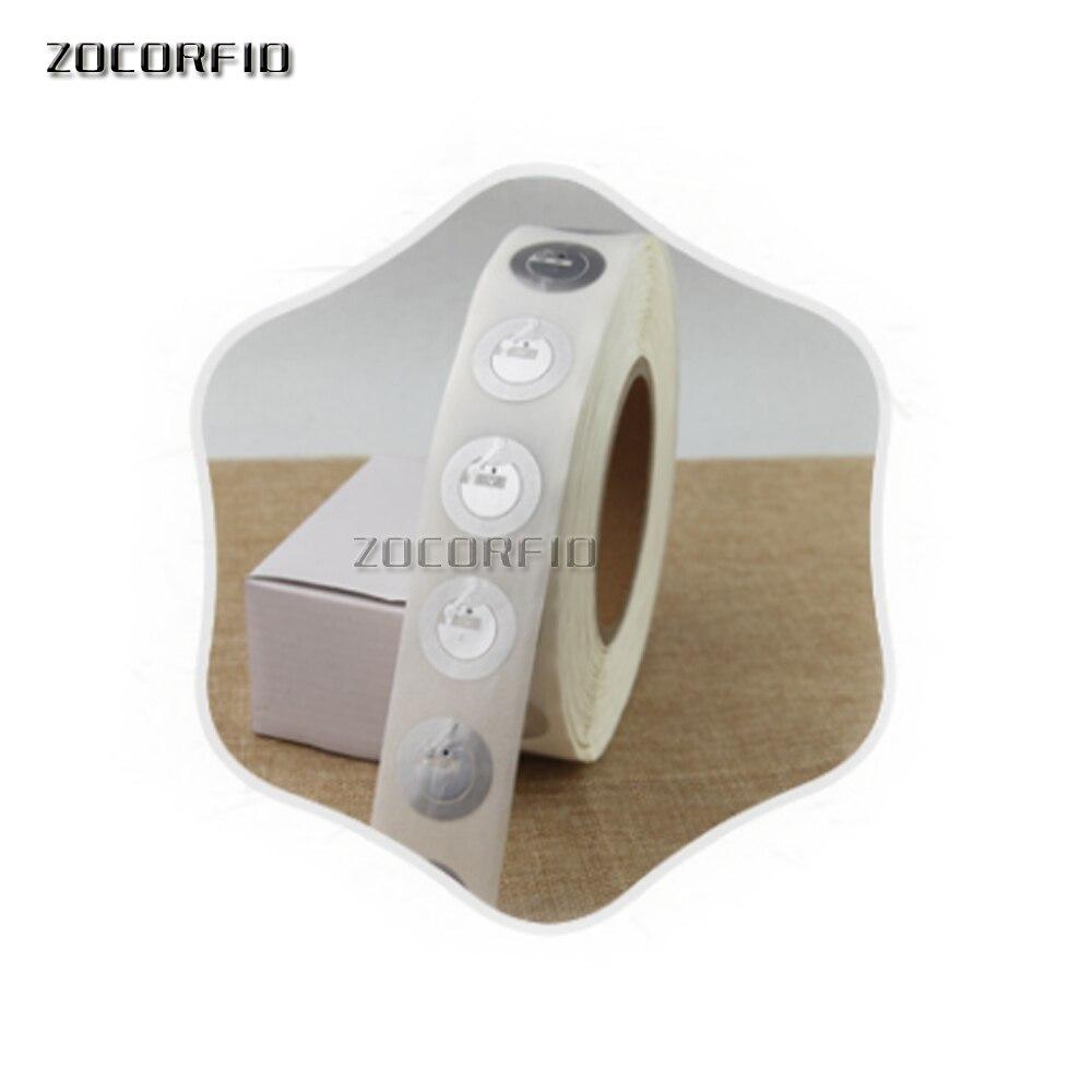 Étiquettes autocollantes IS14443A   1000 MHz e portefeuille paiement RFID, étiquettes intelligentes, NFC, gros, 13.56 pièces/lot