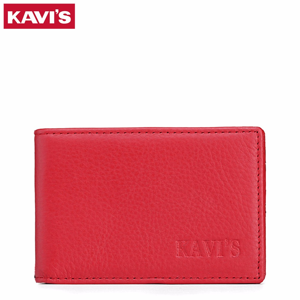 KAVIS Fashion Men\'s Leather Credit Card Holder ID Business Card Case ...