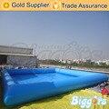 Inflatable biggors inflável piscina para crianças jogos de esportes