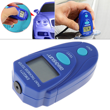 EM2271 Mini Portable LCD Display Digital Coating Thickness Tester Handheld Measuring Tool with String Support Unit Switching