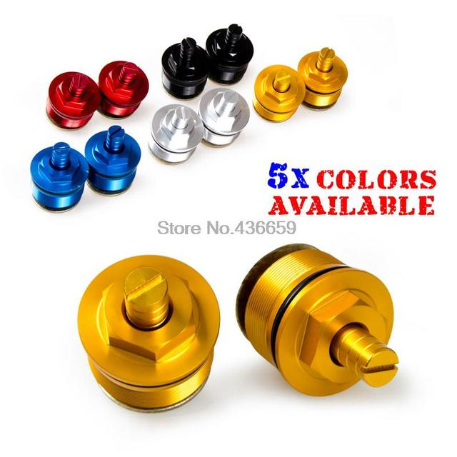 Motorcycle Front Fork Bolt Screw Fork Cap Adjusters for Honda CB400SF VTEC NC39 1999-2007 Motor Accessories