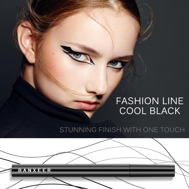 BANXEER Eyeliner Waterproof Liquid Eyeliner Make Up Beauty Cosmetic Long-lasting Eye Liner Pencil Makeup Tools For Women 3