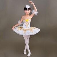 Ballet Dance Dresses Kid Professional Swan Ballet Tutu Costume for Children Ballerina Dress Ballet girl Dancewear tutu skirt