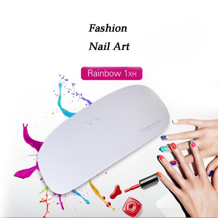 HOT Family Practical USB Charging Portable Design 24W Professional LED UV Nail Lamp Led Nail Light Nail Dryer Gift Drop shipping