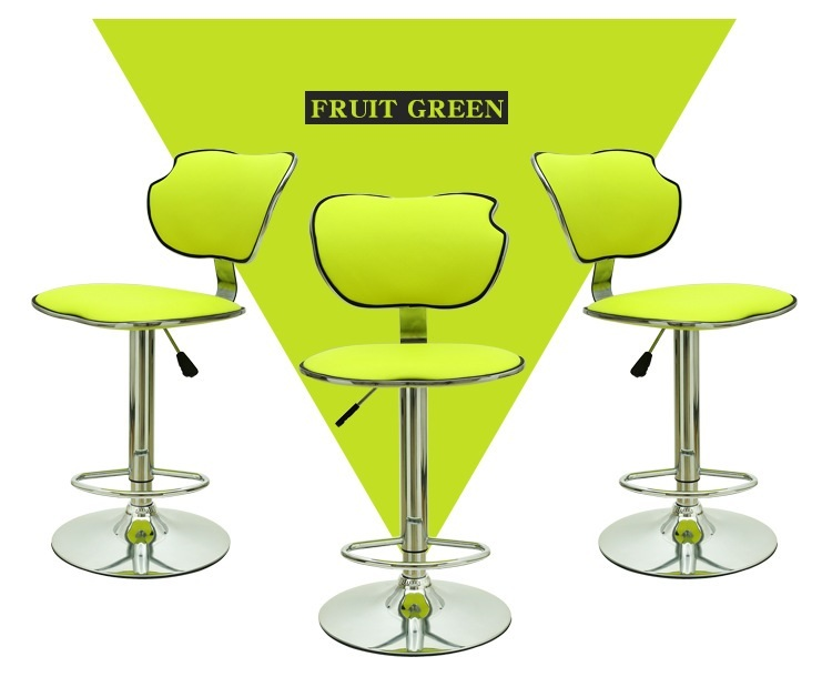 KTV bar chair restaurant hotel green color stool retail wholesale free shipping