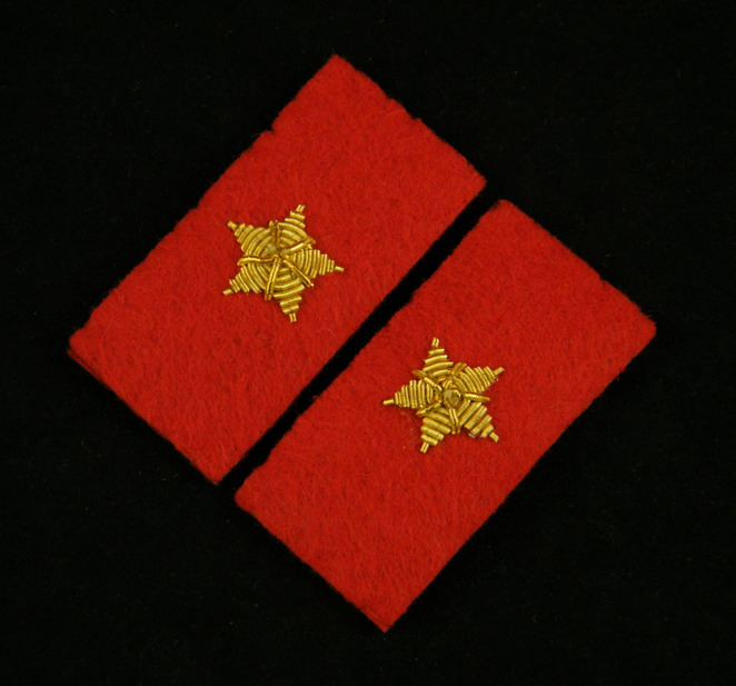 WWII IMPERIAL JAPANESE ARMY PRIVATE COLLAR TABS -35399