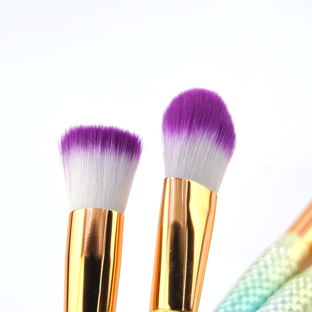 delineador corretivo escovas cauda de peixe cosméticos