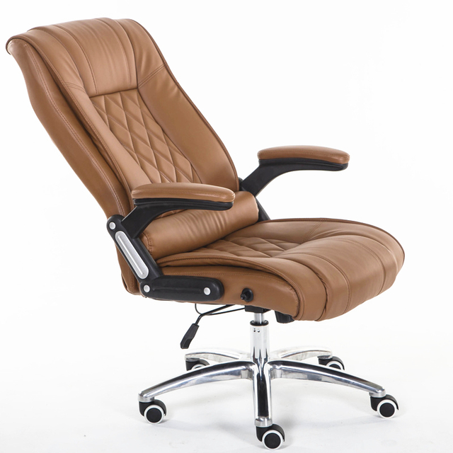 ergonomic chair for home office white recliner leisure lying simple modern computer lifting swing swivel meeting thickening soft boss