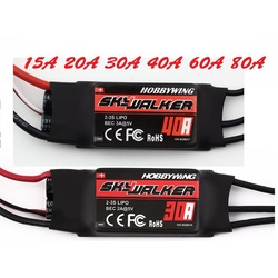 1pcs Hobbywing Skywalker 20A 30A 40A 50A 60A 80A ESC Speed Controler With UBEC For RC FPV Quadcopter RC Airplanes Helicopter