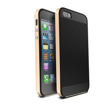 For iphone 5SE 6 6s 6plus 6s plus case Metal Bumper with Silicone inner shell Ultra thin Full Cover Shockproof Back Cover