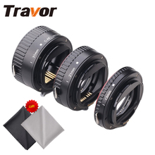 Travor MET-C1 Plastic Macro Extension Tube For Canon DSLR Camera with 2pcs Microfiber Lens Cloth
