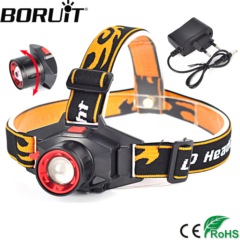 BORUiT 1000LM XML Q5 LED Headlight 3-Mode Zoom Headlamp Outdoor Camping Head Torch Rechargeable Flashlight Built-in Battery sitemap 49 xml