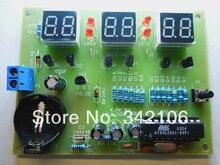 Free Shipping!!!  AT89C2051 / six digital clock kit / electronic clock kit (spare parts)