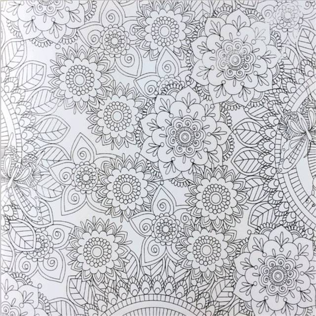 US $4.59 5% OFF Mystery Garden Coloring Book for Adults Kids Antistress Art  Books Mandala The Secret Garden Quiet Color Drawing 25*25cm 24Pages-in ...