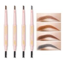 1PC New Brand Eyebrow Tint Cosmetics Natural Paint Tattoo Eyebrow Long Lasting Waterproof Black Brown Eyebrow Pencil Makeup Set недорого