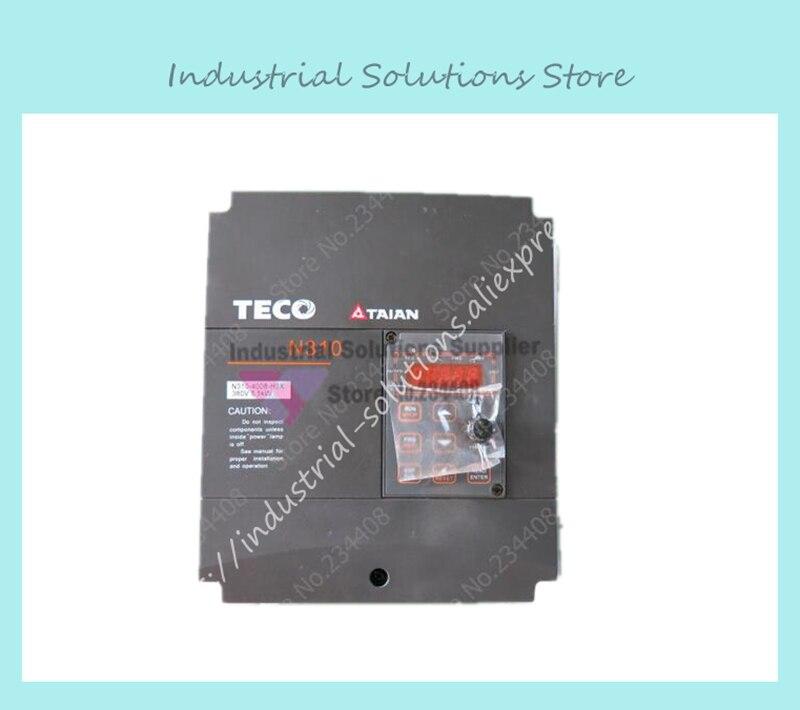 Frequency Converter 3-phase N310-4008-H3 380v 5.5kw High Performance New teco drive inverter n310 4008 s3x 7 5hp 5500w 3 phase 380v 480v hot selling