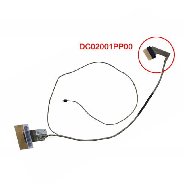Laptop Lcd screen cable for LENOVO G400 G490 G405 G410 DC02001PQ00 DC02001PP00 Flex Cable Display Screen line Cable