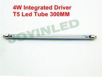 Triac PWM Dimmable Led Tube T5 300mm 4W 220 230V No Ballast Starter Commercial Office Tube