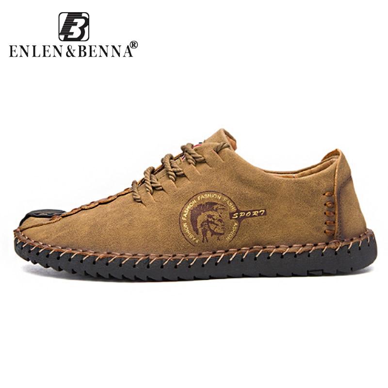 2018 Fashion Leather Shoes Men Full Handtailor Vintage Sneakers Huarache Moccasins Non-slip Super Hot Flats Black Plus Sizes 46 цена