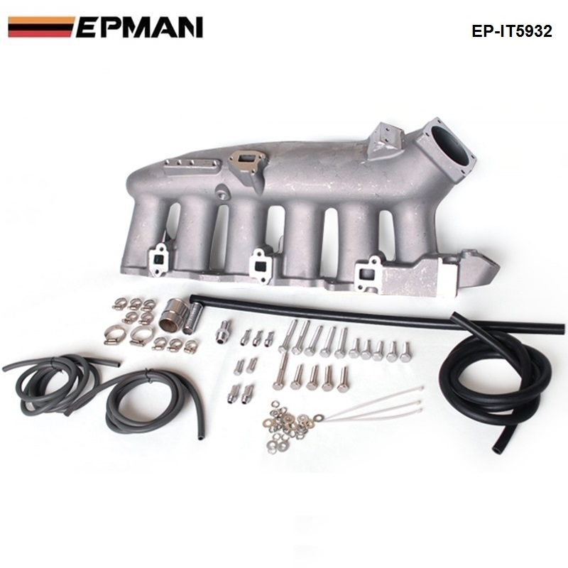 For Nissan RB25 ECR33 Cast Aluminum Turbo Intake Manifold Jdm high Performance EP-IT5932