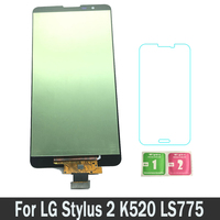 100% Tested New Replacement Parts LCDs Display For LG Stylus2 K520 LS775 For LG Stylus 2 LCD Touch Screen Digitizer Assembly