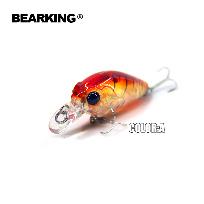 Bearking 2017 perfect professional A+ fishing lures,8color for choose mini crank 35mm 3.5g suspending dive 1m minnow hard bait retail bearking 2016 hot model fishing lures hard bait 8color for choose 110mm 13g minnow quality professional minnow