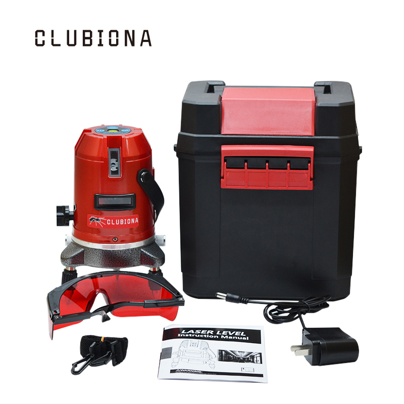 RED 3 lines (2v, 1h) self-leveling slash functional 360 degrees outdoor available detector OK auto level cross line laser firecore a8846 mini 4 lines 360 degrees red laser level auto self levelling in the range of 3 degrees
