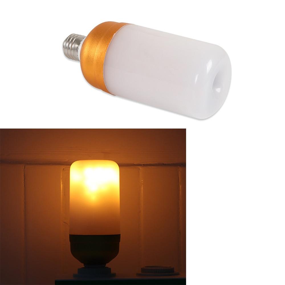 Dynamic Flame Flicker LED light Bulb Emulation Fire Burning Flame lamp Holiday Chirstmas Decoration Night light E27 85V-265V xeltek private seat tqfp64 ta050 b006 burning test