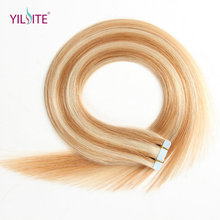 Popular double sided hair extension tape buy cheap double sided yilite double sided tape hair extensions 20pcs adhesive tape in human hair piano color non remy pu hair extension 20 pmusecretfo Gallery