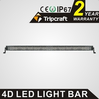 Wholesale 300W Led Light Bar 4D 50inch 25500lm Car Work Driving Lamp For Offroad 4x4 Truck
